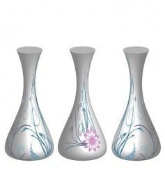 retro vase illustration vector image