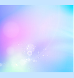 abstract fantasy background of white bokeh over vector image