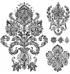 filigree vector image