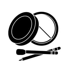 Makeup design icon vector