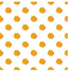 Orange honey pattern vector