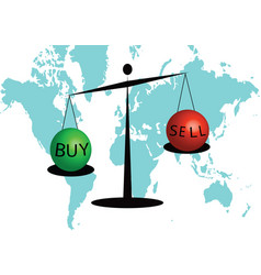 Trading buy and sell on the scale vector