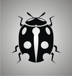 Tribal Ladybug vector image
