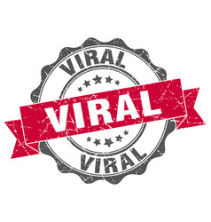 Viral stamp sign seal vector