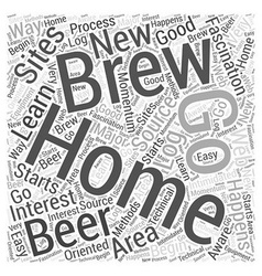 Going to the source to learn home brewing word vector
