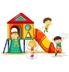 Playground vector image