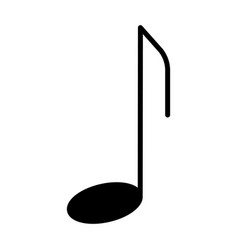music note icon pictogram vector image