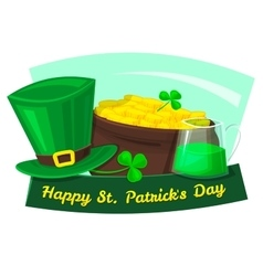 Happy St Patrick Day vector image