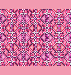 abstract pink background seamless pattern vector image
