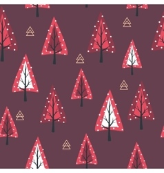 Christmas seamless background New Year collection vector
