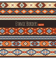 Ethnic borders vector image