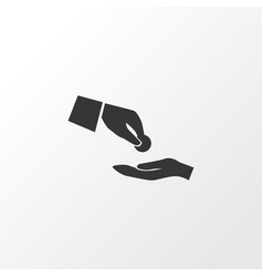Financial assistance icon symbol premium quality vector