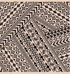 geometrical ethnic motifs vector image
