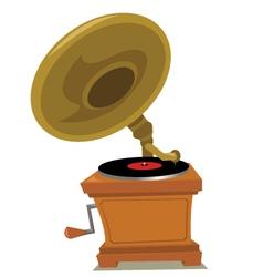 Grammophone vector