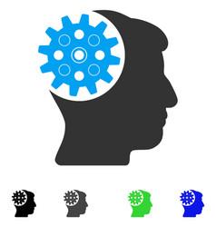 Head gear flat icon vector