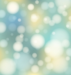 Magical background with colorful bokeh vector