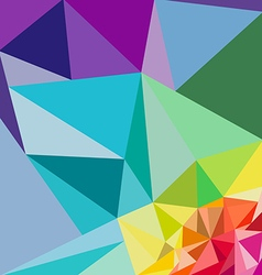 polygon backgrounds vector image