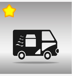 van fast delivery vector image