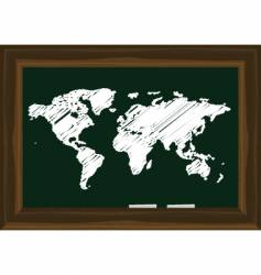 world map graphic vector image