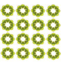 Grass green hop flowers digital seamless vector