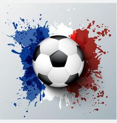 Euro 2016 France football championship vector image