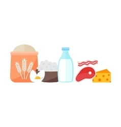 Everyday products vector image