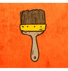 Paintbrush Cartoon vector image vector image