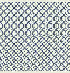 Abstract modern square pattern design of seamless vector