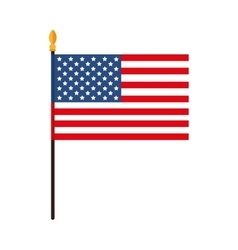 america usa flag vector image