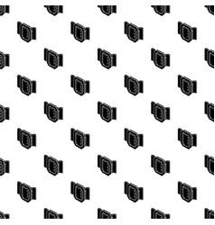 belt buckle pattern seamless vector image
