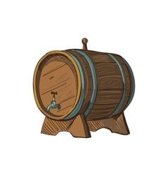 Doodle barrel vector