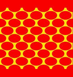 Duotone pop art polka dots pattern seamlessly vector