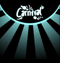 elegant carnival background vector image