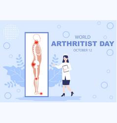 World arthritis day background which vector