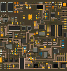 Computer chip technology processor circuit vector