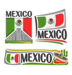 Logo for mexico vector