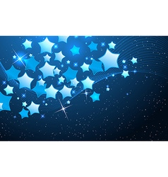 star background design vector image
