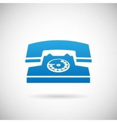 Call Symbol Phone Icon Design Template vector image