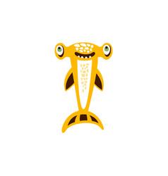 hammerhead shark fish hand drawn vector image