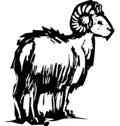 Bighorn Sheep vector
