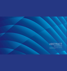 Blue gradient wave abstract background cover vector