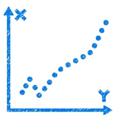 Function Plot Grainy Texture Icon vector