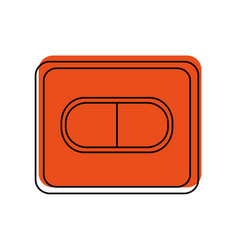 Medication pill healthcare icon image vector
