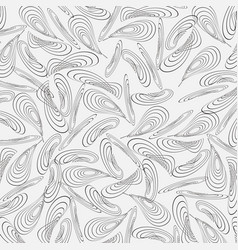 monochrome background from chaotically curved vector image