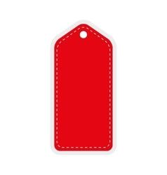 Red tag icon label design graphic vector