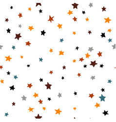 seamless abstract pattern with stars creative vector image