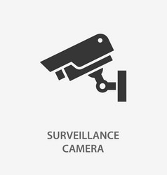 security camera icon for vector image