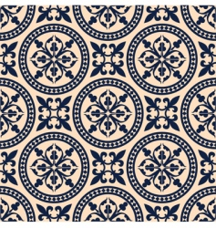 antique seamless pattern vector image vector image