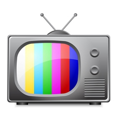 television vector image