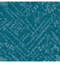 Mathematics seamless EPS 10 vector image vector image